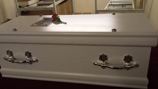 Jiya's coffin